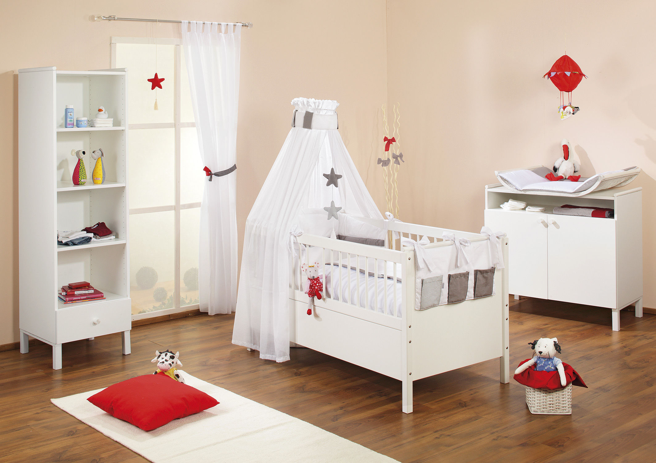 Zimmer Vichy taupe, Dess. 547